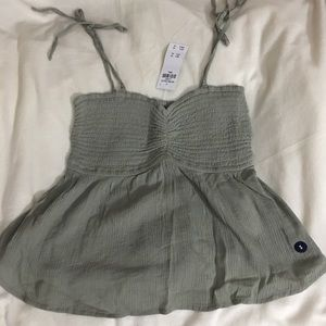 Abercrombie and Finch olive green cami